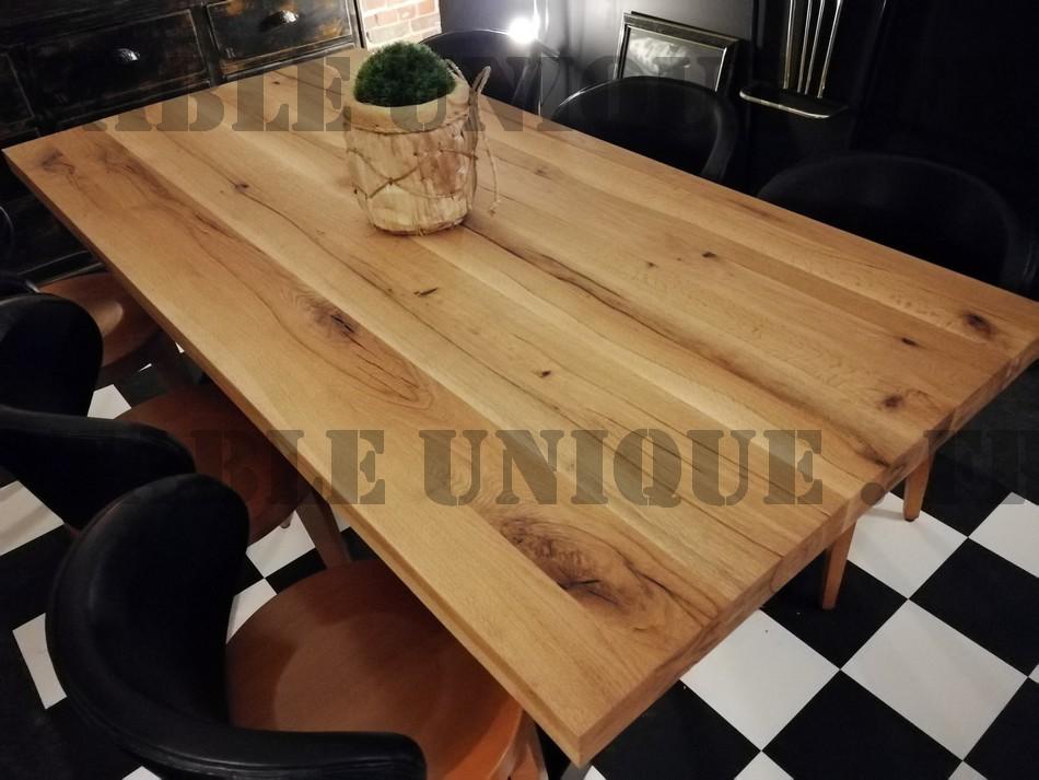 Salle a manger bois massif table de salle manger bois table en bois - But table de salle a manger ...