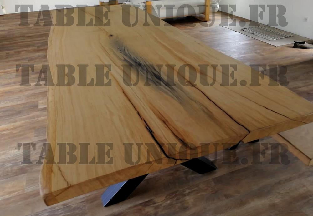 grande table en chêne massif