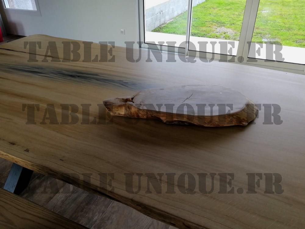 Grande table en chene massif