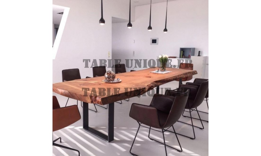 Table de salle manger en bois massif vendu 2900 table - Table de salle a manger en bois massif ...